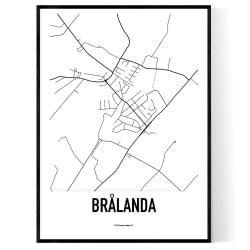 Brålanda Karta