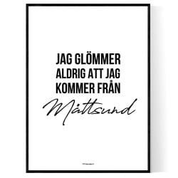 Från Måttsund