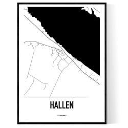 Hallen Karta
