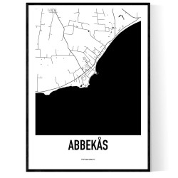 Abbekås Karta