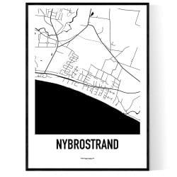 Nybrostrand Karta
