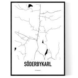 Söderbykarl Karta