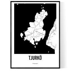 Tjurkö Karta