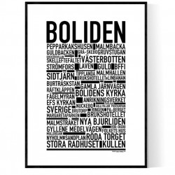 Boliden Poster