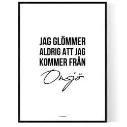 Från Onsjö