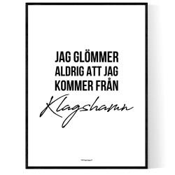 Från Klagshamn
