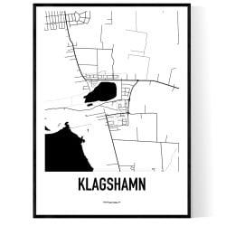 Klagshamn Karta
