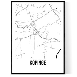 Köpinge Karta