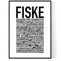 Fiske Poster