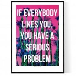 Serious Problem Poster