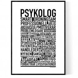 Psykolog Poster