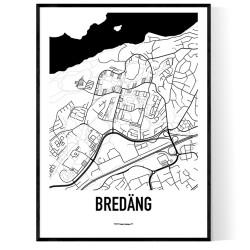 Bredäng Karta
