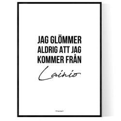 Från Lainio