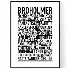 Broholmer Poster