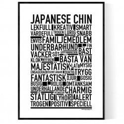 Japanese Chin Poster