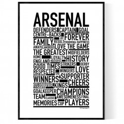 Team Arsenal Poster