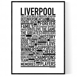 Team Liverpool Poster