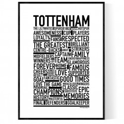 Team Tottenham Poster