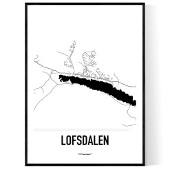 Lofsdalen Karta