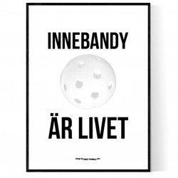 Innebandy Är Livet Poster
