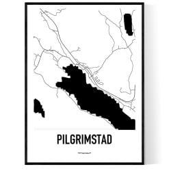 Pilgrimstad Karta
