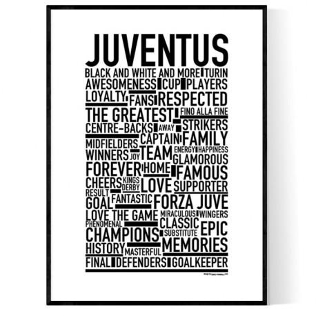Team Juventus Poster