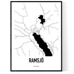 Ramsjö Karta