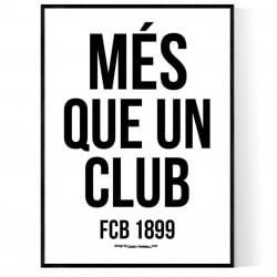 Més Que Un Club Poster