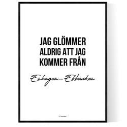 Från Enhagen-Ekbacken