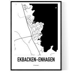Enhagen-Ekbacken Karta