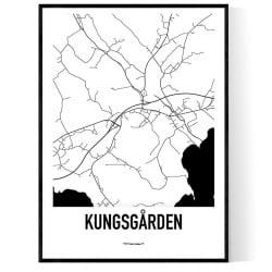 Kungsgården Karta