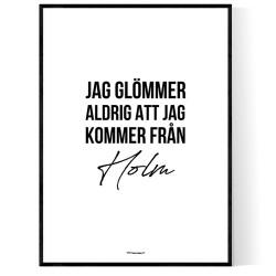 Från Holm