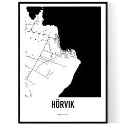 Hörvik Karta