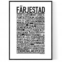 Team Färjestad Poster