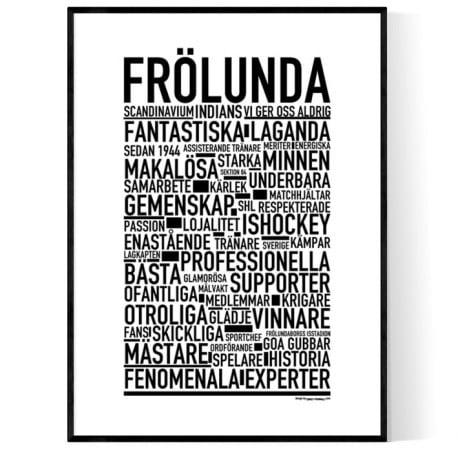 Team Frölunda Poster