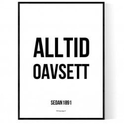 Alltid Oavsett Poster