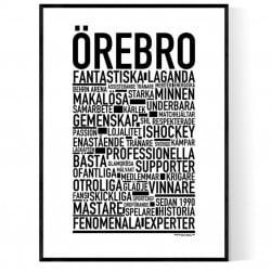 Team Örebro Poster