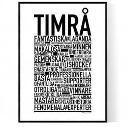 Team Timrå Poster
