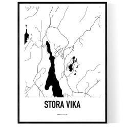 Stora Vika Karta