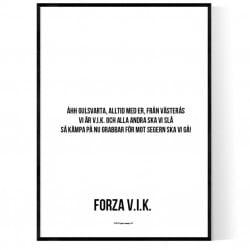 Forza VIK Poster
