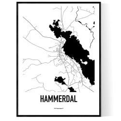 Hammerdal Karta
