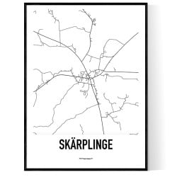 Skärplinge Karta