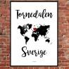 Tornedalen Sverige Poster