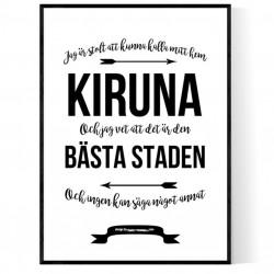 Mitt Hem Kiruna Poster