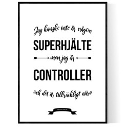 Controller Hjälte Poster