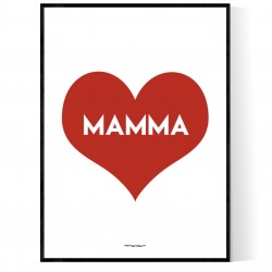 Mamma Heart Poster