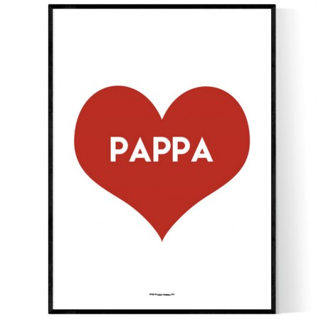 Pappa Heart Poster