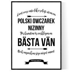 Livet Med Polski Owczarek Nizinny