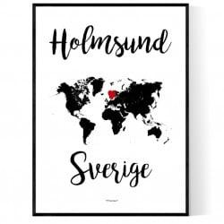 Holmsund Sverige Poster