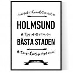 Mitt Hem Holmsund Poster